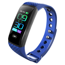 CK17S Smartband לחץ דם חכם להקת קצב לב צג חכם צמיד פעילות כושר Tracker פדומטר חכם צמיד