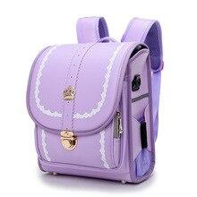 Japanese Style Randoseru Children School Bags for Girls Boys