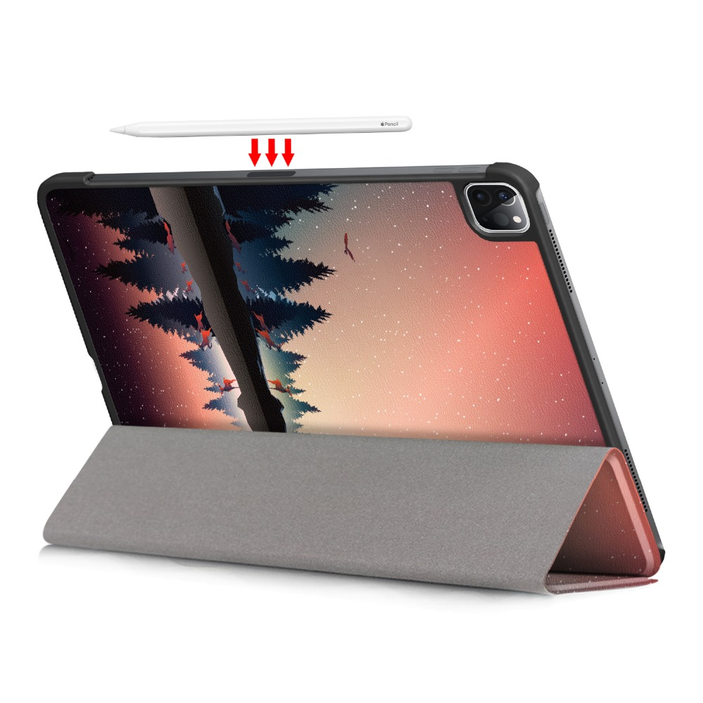 11 11 Cover Case Apple PU Pro Leather for for Stand iPad Foldable Case Pro iPad 2020