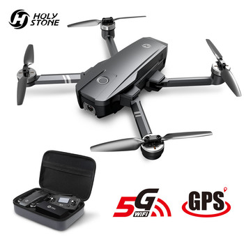 Holy Stone HS720 RC Drone GPS Brushless Motors 5G GPS Drone 4K Gimbal 400M Wifi FPV 26 Mins Profissional Quadcopter Quadcopter 1pcs super lightgopro cnc brushless camera gimbal w motors