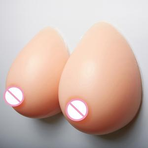 Crossdresser Shemale Realistic Breast Forms False Silicone Artificial Adhesive Breast Fake Boobs Crossdres Breasts Chest Special(China)
