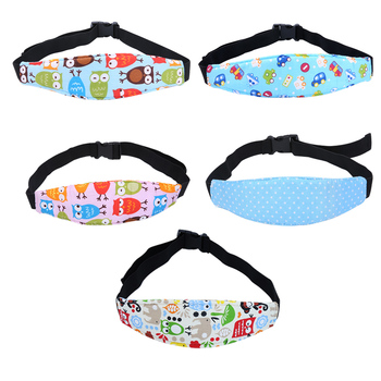 Hot Sale 1PC Infant Baby Car Seat Head Support Children Belt Fastening Belt Adjustable Sleep Positioner Baby Saftey Pillows image
