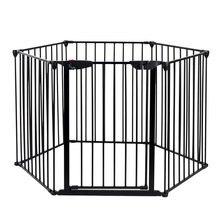 [us warehouse] 6 стальных ограждений для камина Безопасный детский