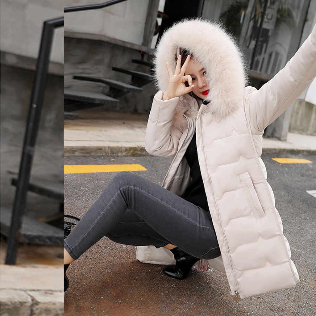 Plus Größe Winter Jacke Frauen Thicked Pelz Mit Kapuze Baumwolle gefütterte Dünne Rot Winter Mäntel Parka Frauen Mäntel Und Jacken kleidung