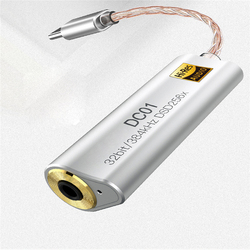 Портативный адаптер усилителя для наушников для iBasso DC01 DC02 USB DAC для планшетов Android PC 2,5 мм 3,5 мм HiFi HiRes адаптер type-C
