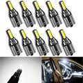 10 шт. T10 led W5W светодиодные лампы салона автомобиля светильник 7020SMD белый 12V для Mazda 3 6 CX-5 323 5 2 CX5 Peugeot 307 206 308 407 207 4008