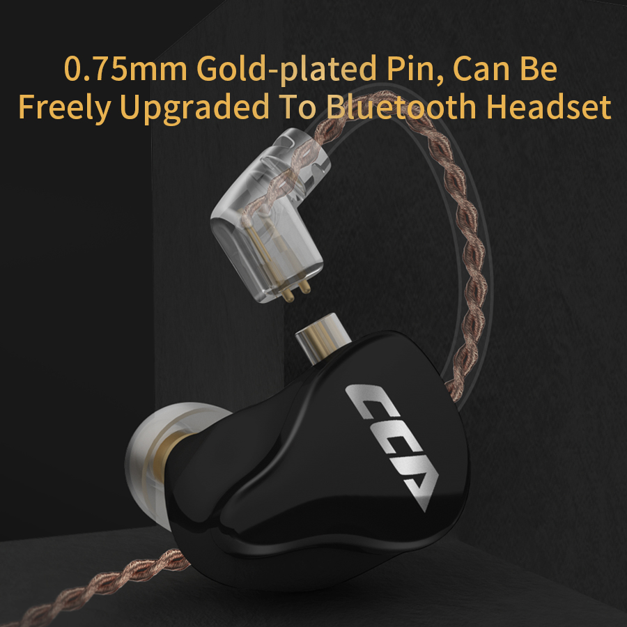 cheapest AK Audio CCA CA16 7BA 1DD Hybrid QDC In Ear Earphone HIFI DJ Monito Running Sport Earphone Headset Earbud C12 CA4 A10