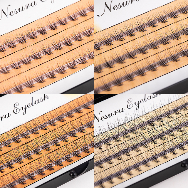 0.1mm False Eyelashes Faux Individual Eyelash Lashes Maquiagem Cilios for Professionals Soft Grafting Mink Eyelash Extension 1
