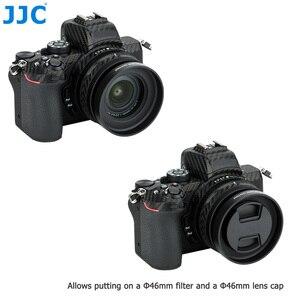 Image 4 - JJC Metal Screw in Lens Hood for Nikon Z50 Camera + Nikkor Z DX 16 50 F/3.5 6.3 VR Lens Replace Nikon HN 40 Lens Shade Protector
