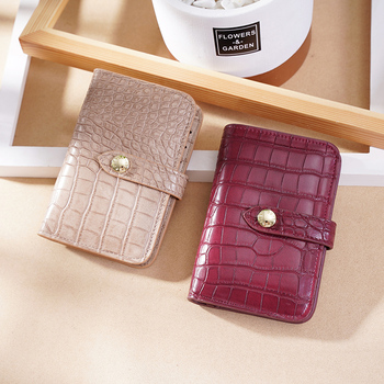 endaycon Mini Wallet Women  Wallets Fashion Alligator Hasp Short Female Small Woman And Purses