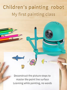 Drawing Robot Toys Draw-Tools Educational-Toys Learning Magic Landzo Kids for Students