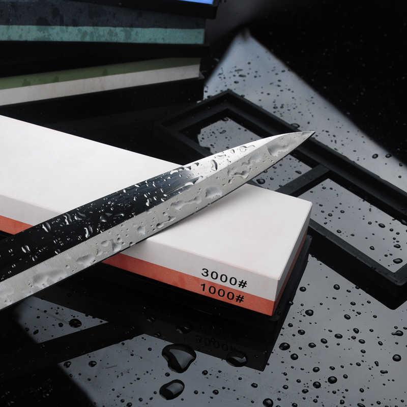 RSCHFE broyeur de couteau professionnel, grain de pierre corindon blanc 1000/3000 2000/5000 aiguisoir en pierre à aiguiser multi-étapes