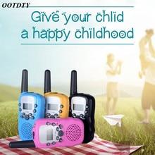 1 paire enfant enfants talkie walkie jeu parental téléphone portable téléphone parlant jouet 3 5KM portée pour les enfants