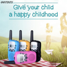 1Pair Child Kids Walkie Talkie Parenting Game Mobile Phone Telephone Talking Toy 3 5KM Range for kids