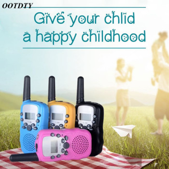 1Pair Child Kids Walkie Talkie Parenting Game Mobile Phone Telephone Talking Toy 3-5KM Range for kids - discount item  19% OFF Walkie Talkie
