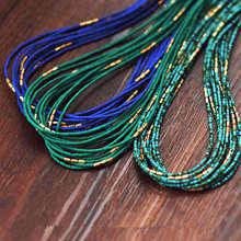 Непальские Винтажные Ювелирные изделия, много крошечных бусин, ожерелья, много цветов на выбор, бохо ожерелья, осень, Новое поступление, TNL228