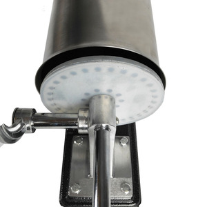 Image 4 - 3L Horizontal Sausage Stuffer Filler Stainless Steel Homemade  Table Sausage Maker Kitchen Tool Meat Processor