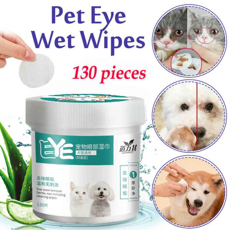 130 sztuk chusteczki nawilżane dla zwierząt domowych odplamiacz dla zwierząt domowych