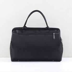 Image 3 - Sports Gym Bag Travel Handbag Women Traveling Bags Lady Luggage Tas Sac De Sport Duffle Gymtas 2020 Striped OutdoorB ag XA286D