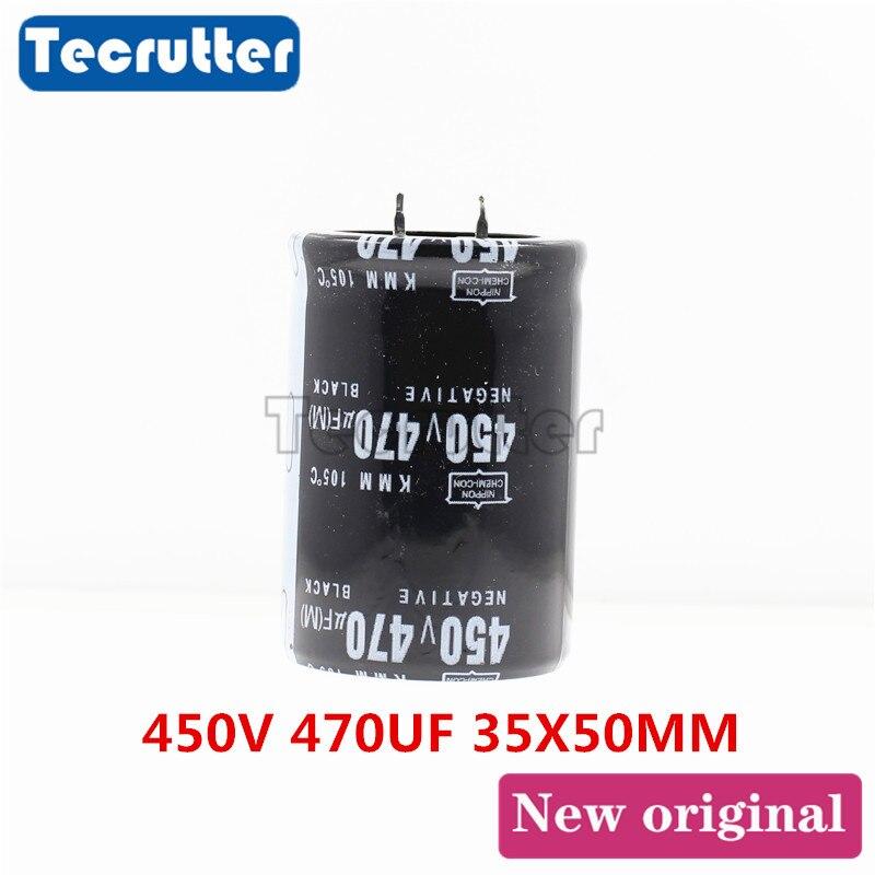 450V 470UF Electrolytic Capacitor 450V / 470UF Volume 35 X 50MM
