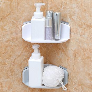 Z tworzywa sztucznego półka łazienkowa organizator półka narożna łazienkowa półka narożna półka narożna prysznic do przechowywania uchwyt ścienny uchwyt na szampon tanie i dobre opinie storage shelf Typ ścienny Pojedyncze plactic bathroom corner shelf