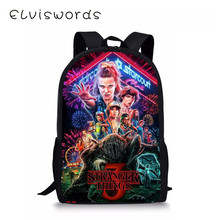 2019 New Stranger Things Bookbag For Teenagers Student Boys Girls Gift Kids Schoolbag Mochila рюкзак очень странные дела