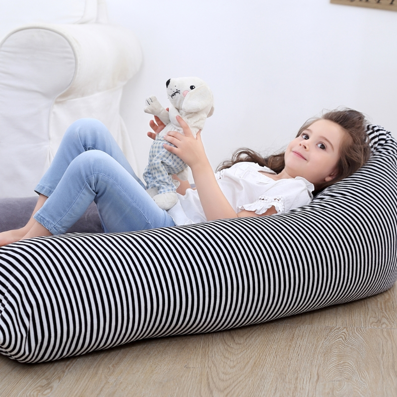 1 Pc Stuffed Animal Storage Bean Bag Chair Baby Kid Toy Sofa Clothes Organizer For Baby chirden High Quality 1