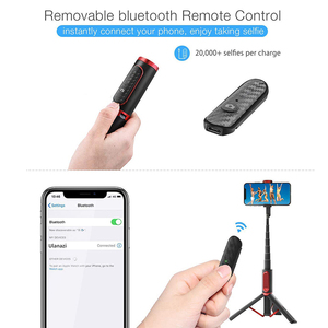 Image 5 - Ulanzi SK 01 3 in 1 Wireless Bluetooth Selfie Stick Foldable Tripod Expandable Monopod with Remote Control for iPhone Android