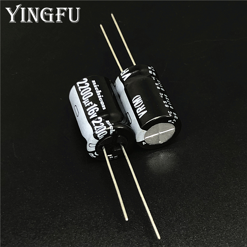 5pcs 2200uF 16V SAMXON GF Series 12.5x30mm Low Impedance Long Life 16V2200uF Aluminum Electrolytic capacitor