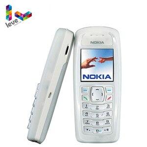 Бывший в употреблении разблокированный Восстановленный сотовый телефон Nokia 3100 GSM 900/1800 с поддержкой нескольких языков Бесплатная доставка
