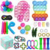 2021 30PC Cheap Fidget Toys Anti Stress Set Strings Relief Pack Gift for Adults Children Figet Sensory Squishy Relief Antistress