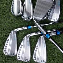 0311XF GEN2 Golf Irons Blue Silver Color Lady Golf Clubs Iron Set Women 56789WGS 8pcs with shaft(China)