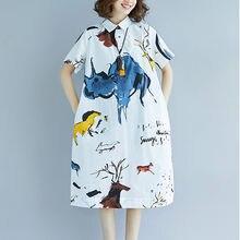 Supermiss kobiety z krótkim rękawem Midi sukienka abstrakcja drukowane w całości zapinana na guziki Casual Sundress 2020 nowe letnie luźne sukienki Vestidos