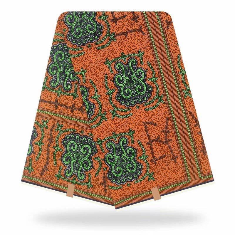 High Quality Original Real Wax 100% Cotton Wax African Fabric African Wax Print Fabric 2020 Latest 6yards Of Ankara Fabric