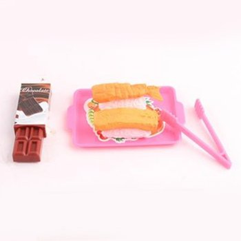 Kids Child Kitchen Pretend Play Toy Cooking Playset Mother And Baby Eductional Toy Tableware Toy with Accessories image