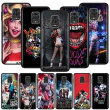 Silicone Phone Case For Xiaomi Redmi Note 9S 7 8 8T 9 Pro Max Redmi 7 8 8A 6 K20 K30 Pro Cover Couqe Harley Quinn Suicide Squad silicone phone case for xiaomi redmi note 9s 7 8 8t 9 pro max redmi 7 8 8a 6 k20 k30 pro cover couqe firefighter heroes fireman