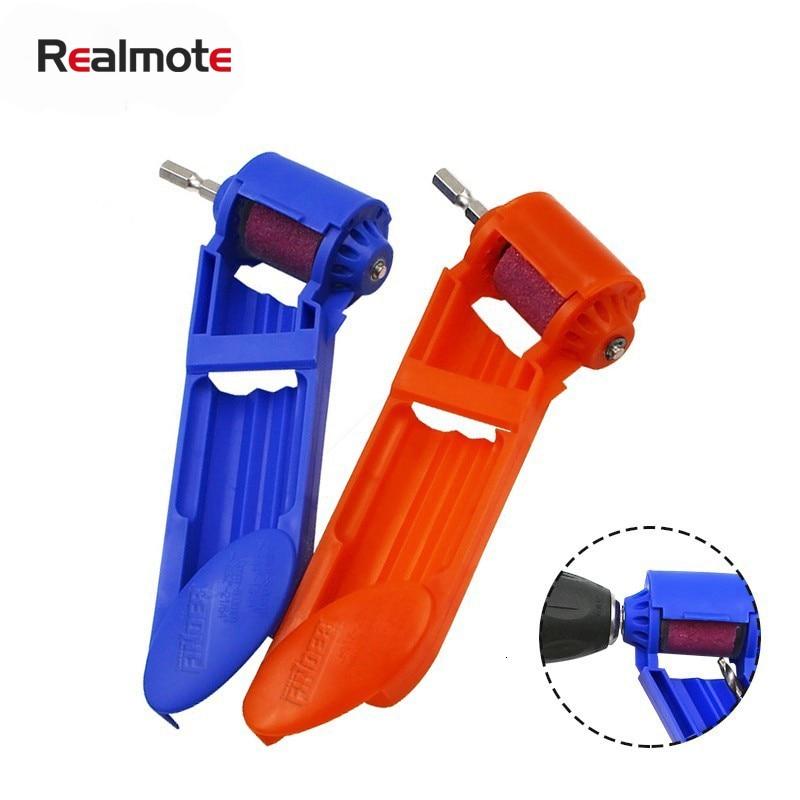 Realmote Portable Drill Grinder Bit Kit Grinding Sharpener Wheel Electric Knife Twist Mini Angle Machine Power Tool