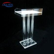 Podium-Stands Aklike Jewelry Displays Workshop-Series School-Furniture Stage Acrylic