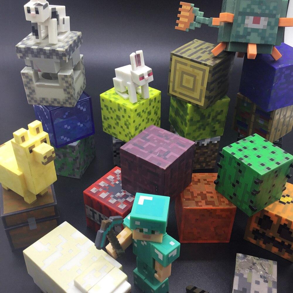 Nowe plastikowe lalki Cooly pnącza lalki Redstone Ore kwadratowe zabawki popularne prezenty figurki zabawki