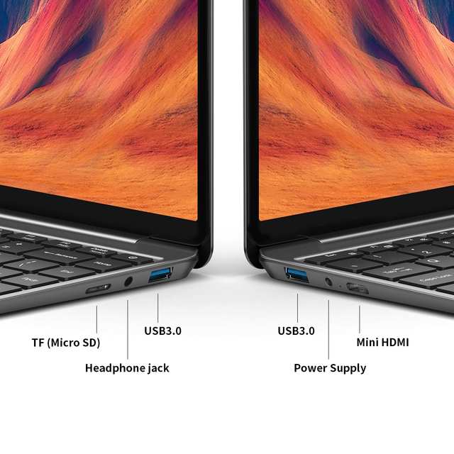 "Teclast F7S 14.1"" Laptop Notebook 8GB RAM 128GB ROM Laptops Intel Apollo Lake Dual Wifi Computer 1920x1080 IPS Windows 10 6"