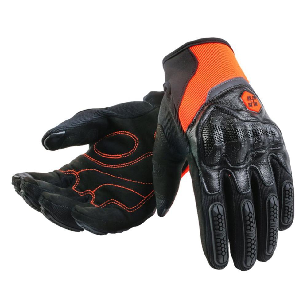 Motorcycle Gloves Men/Women Racing Moto Motorbike Motocross Riding Gloves Motorcycle Winter Warm Thermal Full Finger Guantes