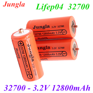 Original brand 32700 12800mAh 3.2V lifepo4 rechargeable battery Professional lithium iron phosphate battery with screw