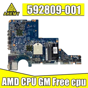 Placa base 592809-001 para HP G62, CQ62, CQ42 y G42, DA0AX2MB6E0, DA0AX2MB6E1, DA0AX2MB6F0, DDR3, placa principal, cpu gratuita