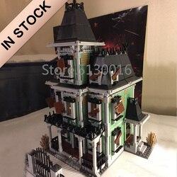 16007 In Voorraad Schepper Fighter De Haunted Soul House 2141Pcs 10228 Street View Model Bouwstenen Bricks Onderwijs Speelgoed