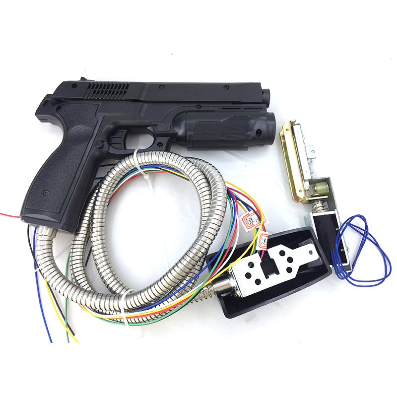Time Crisis 4 Shooting Gun For Amusement Machine Game/Simulator Fire Game/CGA Monitor Arcade Cabinet Parts