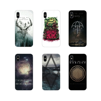 Cell Phone Shell Covers Bring Me The Horizon Metalcore BMTH For Xiaomi Redmi Note 3 4 5 6 7 8 Pro Mi Max Mix 2 3 2S Pocophone F1 image