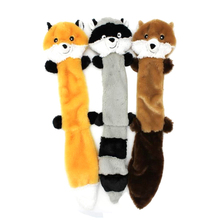 Puppy Training Toy Chew Squeaker Animals Pet Toys Plush Honking Squirrel For Dogs Cat Squeak Dog Supplies