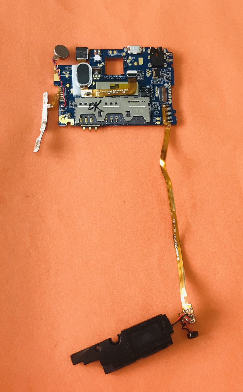 Used Original mainboard 2G RAM+16G ROM Motherboard for <font><b>HOMTOM</b></font> <font><b>S16</b></font> MTK6580 Quad-Core Free shipping image