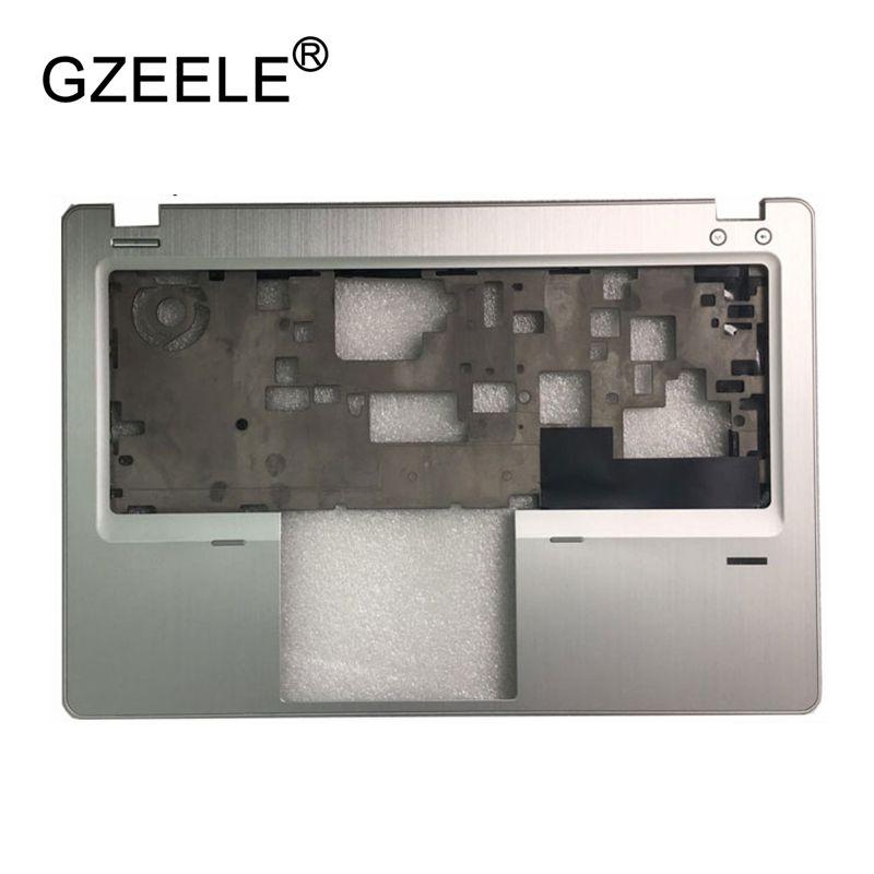 GZEELE New Laptop LCD TOP CASE For HP EliteBook Folio 9470M 9480M Palmrest Keyboard Bezel Cover