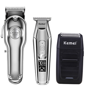 Image 1 - Kemei hair clipper electric hair trimmer barber hair cutter mower hair cutting machine kit combo KM 1987 KM 1986 KM 5027 KM 1102